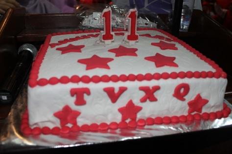 tvxq cake